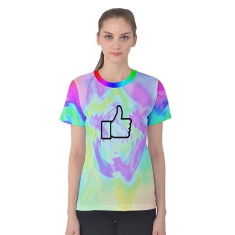 Like Watercolour? Women s Cotton Tee by Contest2278436