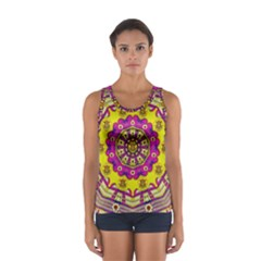 Celebrating Summer In Soul And Mind Mandala Style Tops by pepitasart