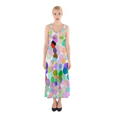My Circles Sleeveless Maxi Dress by BIBILOVER