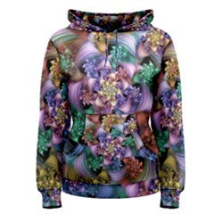 Bright Taffy Spiral Women s Pullover Hoodie