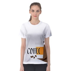 Coffee Women s Sport Mesh Tee by Contest2305378