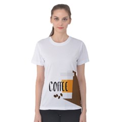 Coffee Women s Cotton Tee by Contest2305378