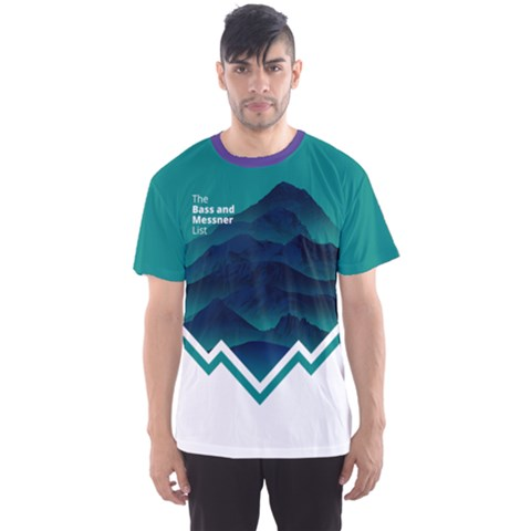 Climb And Conquer Men s Sport Mesh Tee by Contest2477599