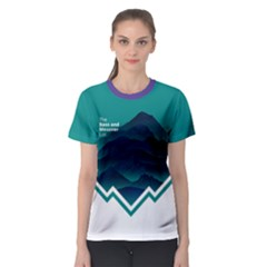 Climb And Conquer Women s Sport Mesh Tee