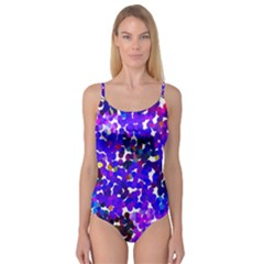 Abstract Land2 11 Camisole Leotard  by BIBILOVER