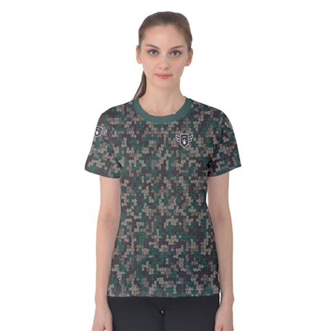 Bermudezyns Camo Tee Women s Cotton Tee by Contest2477599