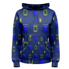 3d Rectangles                                                                      Women s Pullover Hoodie by LalyLauraFLM