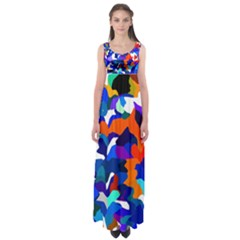 Classic New York Cty13 Empire Waist Maxi Dress by BIBILOVER