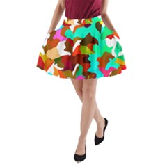 Classic New York Cty1378 A Line Pocket Skirt by BIBILOVER
