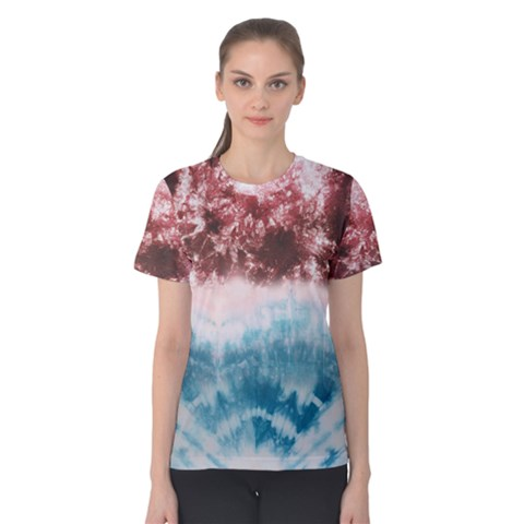 Tie-dye2 Women s Cotton Tee by Wanni