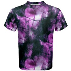 Celestial Purple  Men s Cotton Tee by KirstenStar