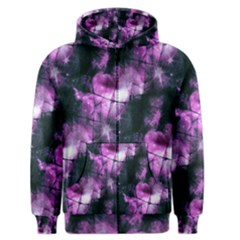 Celestial Purple  Men s Zipper Hoodie by KirstenStar