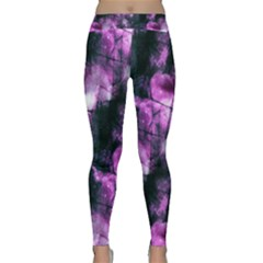 Celestial Purple  Yoga Leggings by KirstenStar