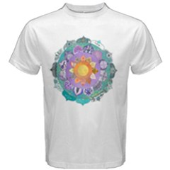 Radiant Lotus Mandala Men s Cotton Tee by Contest2484365