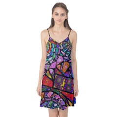 Fractal Stained Glass Camis Nightgown