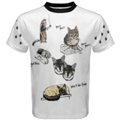 Cats Rule Men s Cotton Tee