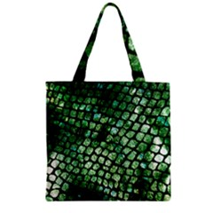 Dragon Scales Zipper Grocery Tote Bag by KirstenStar