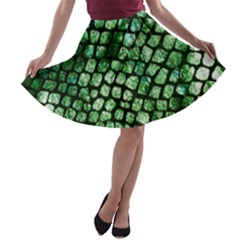 Dragon Scales A Line Skater Skirt by KirstenStar