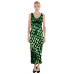 Dragon Scales Fitted Maxi Dress by KirstenStar