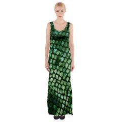Dragon Scales Maxi Thigh Split Dress by KirstenStar