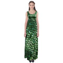 Dragon Scales Empire Waist Maxi Dress by KirstenStar