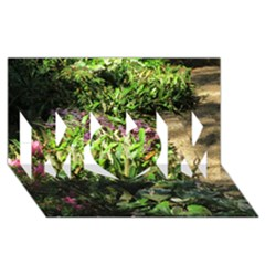 Shadowed Ground Cover Mom 3d Greeting Card (8x4)  by ArtsFolly