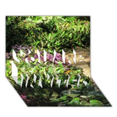 Shadowed Ground Cover You Are Invited 3d Greeting Card (7x5)  by ArtsFolly