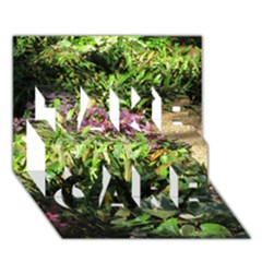 Shadowed Ground Cover Take Care 3d Greeting Card (7x5)