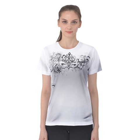 Hollow Women s Sport Mesh Tee by Contest2482676