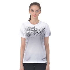 Hollow Women s Sport Mesh Tee