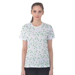 Nature Pattern Women s Cotton Tee by gumacreative