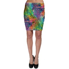 Reality Is Melting Bodycon Skirt
