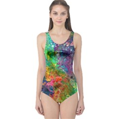 Reality Is Melting One Piece Swimsuit
