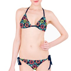 Tropical Flowers Bikini Set by olgart