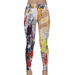 Abstract Graffiti Yoga Leggings