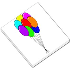 Colorful Balloons Small Memo Pads by Valentinaart