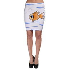 Cute Fish Bodycon Skirt by Valentinaart