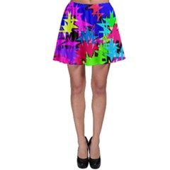 Colorful Shapes                                                                             Skater Skirt by LalyLauraFLM