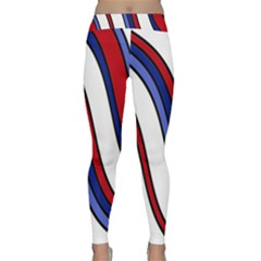 Decorative Lines Yoga Leggings by Valentinaart