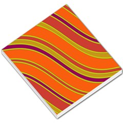 Orange Lines Small Memo Pads