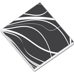 Black And White Elegant Design Small Memo Pads by Valentinaart