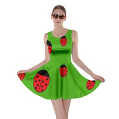 Ladybugs Skater Dress by Valentinaart