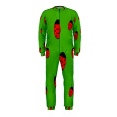 Ladybugs Onepiece Jumpsuit (kids) by Valentinaart