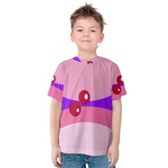 Decorative Abstraction Kid s Cotton Tee by Valentinaart