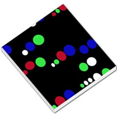 Colorful Dots Small Memo Pads by Valentinaart