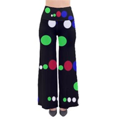 Colorful Dots Pants by Valentinaart