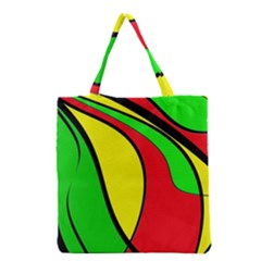 Colors Of Jamaica Grocery Tote Bag by Valentinaart