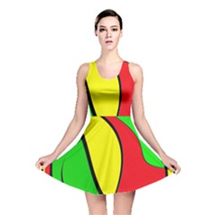 Colors Of Jamaica Reversible Skater Dress by Valentinaart