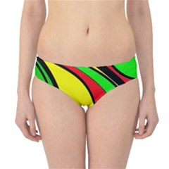 Colors Of Jamaica Hipster Bikini Bottoms by Valentinaart