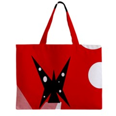 Black Butterfly  Zipper Mini Tote Bag by Valentinaart